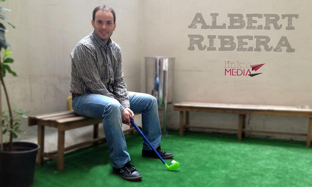 Soy Albert Ribera, CEO de Link to Media, y así trabajo - Comotrabajan.com