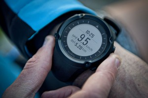 Suunto Ambit Black on wrist