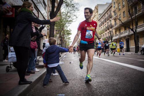 Iñaki Arrola en una maratón