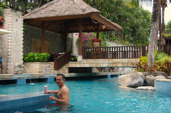 David Esteban piscina